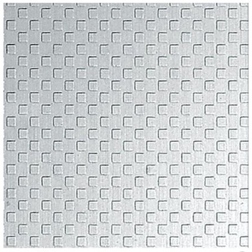 Small Square Pattern Embossed Stainless Steel Sheet
