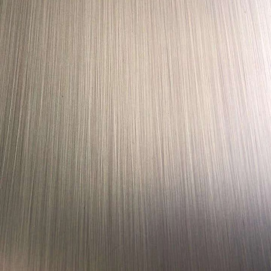 Antique Copper Hairline Stainless Steel Sheets