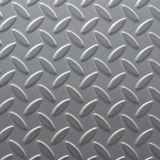 Anti-Skid Stainless Steel Plate Slip Resistant Metal Sheet