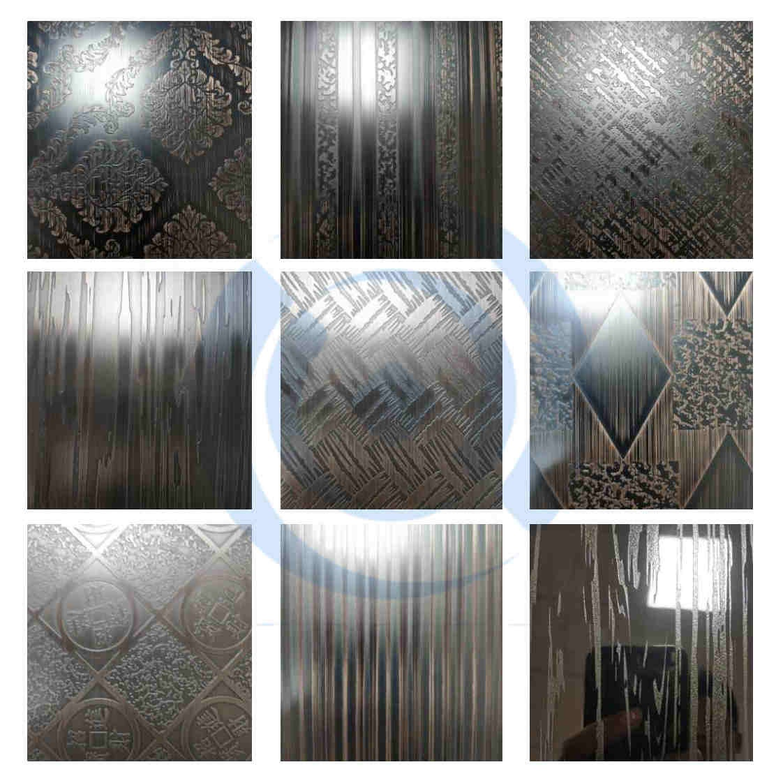 Etching Copper Plate Decoration Stainless Steel Sheets