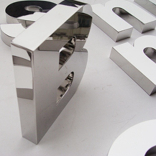 Decorative Stainless Steel Letters and Numbers