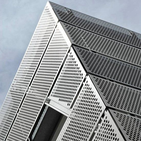 Perforated Facade Metal Screen Panel Decoration