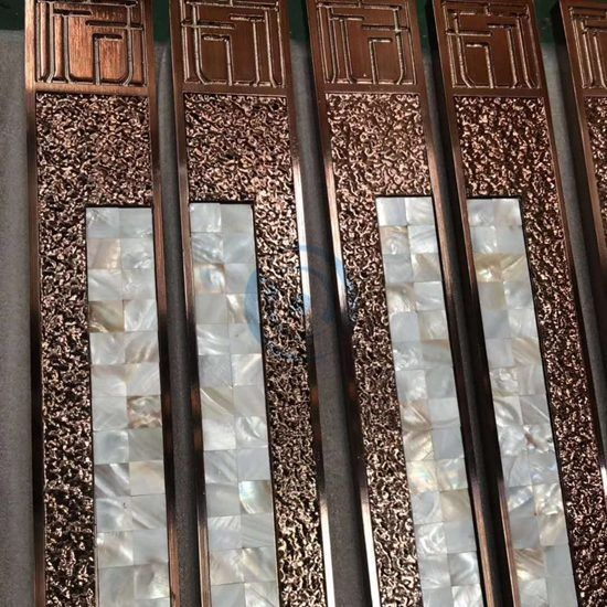 Customized Luxury Door Handle in Copper