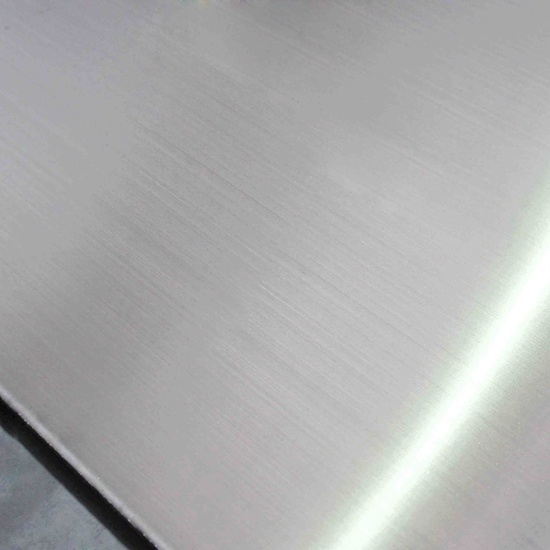 Brush HL Finish Stainless Steel Sheet