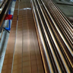 Copper Color Stainless Steel Pipe Tube Profile