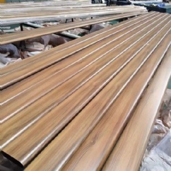 Wood Pattern Stainless Steel Pipe Handrail Profile