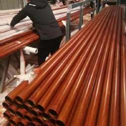 Wooden Pattern Stainless Steel Pipe Tube Profile