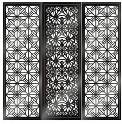 Laser Cut Metal Screen Stainless Steel Panel
