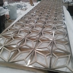 PVD Color Stainless Steel Screen Panel