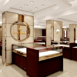 Jewelry Shop Stainless Steel Display Counter