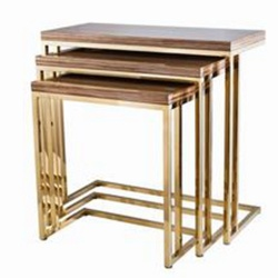 Hotel Stainless Steel End Tables