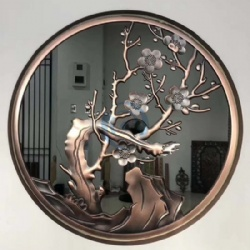 Decorative Aluminum Copper Art Metal