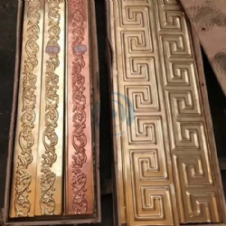 Decorative Metal Trim Edge Metal Engraved