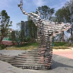 Stainless Steel Sculpture Fabrication