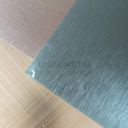 Grinding Scotch Brush Satin Finish SB4 Stainless Steel Sheet