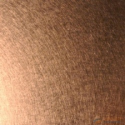 Rose Gold Color Vibration Stainless Steel Sheet