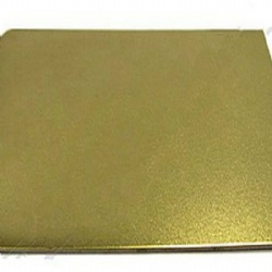 Champagne Gold Bead Blast  Stainless Steel Sheets