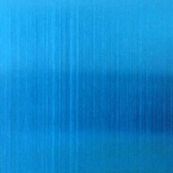 Blue Color Hairline Stainless Steel Sheets